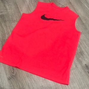 (Big Boys) Nike tank Bright tangerine/orange color